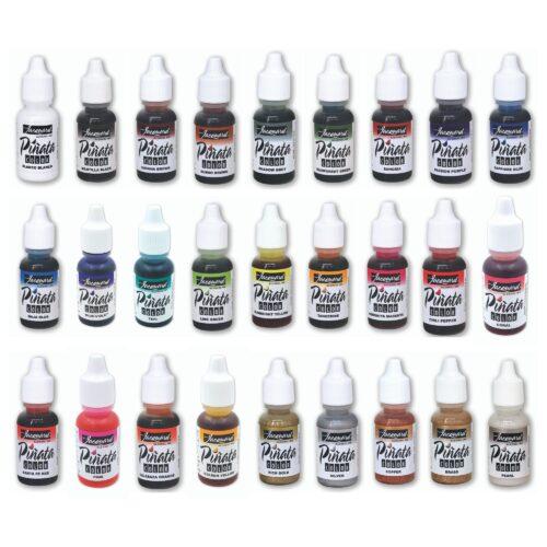 Alle Pinata Alcohol Ink Farbtöne in der Übersicht