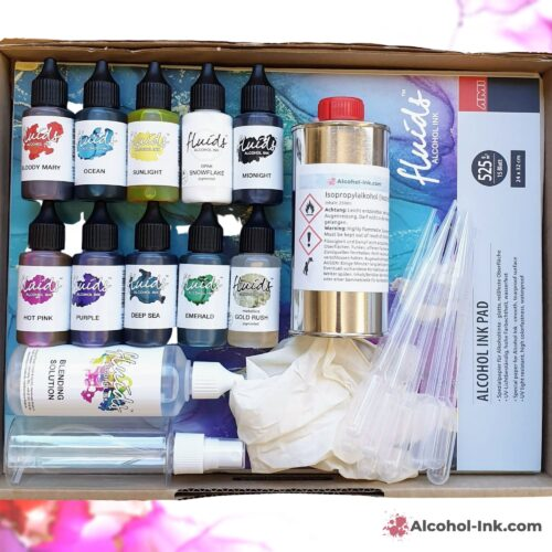 Alcohol Ink Starter Set von Alcohol-Ink.com