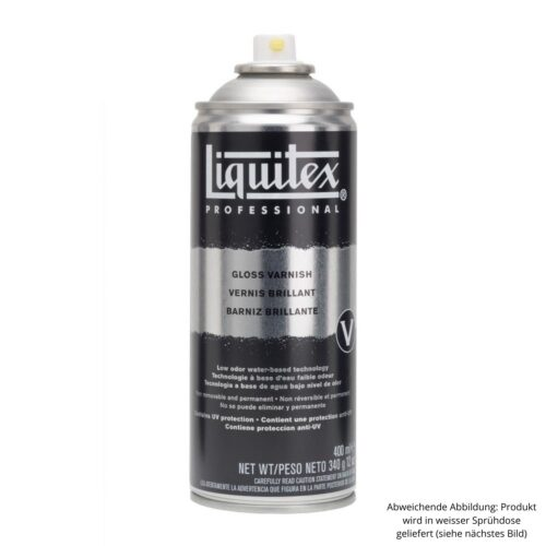 Liquitex-Professional Gloss Varnish Spray zur Versieglung von Alcohol Ink Werken